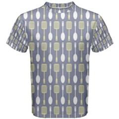 Spatula Spoon Pattern Men s Cotton Tees