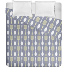 Spatula Spoon Pattern Duvet Cover (double Size)