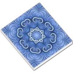 Awesome Kaleido 07 Blue Small Memo Pads