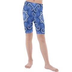 Awesome Kaleido 07 Blue Kid s swimwear