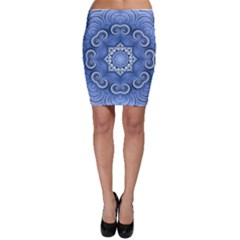 Awesome Kaleido 07 Blue Bodycon Skirts