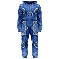 Awesome Kaleido 07 Blue Hooded Jumpsuit (Ladies)