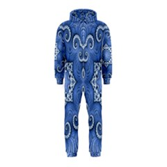 Awesome Kaleido 07 Blue Hooded Jumpsuit (Kids)