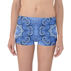 Awesome Kaleido 07 Blue Boyleg Bikini Bottoms