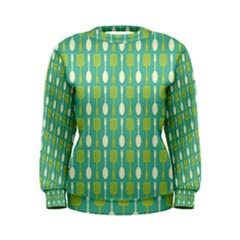 Spatula Spoon Pattern Women s Sweatshirts