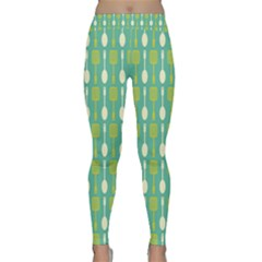 Spatula Spoon Pattern Yoga Leggings