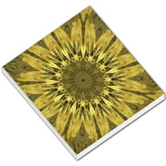 Kaleido Flower,golden Small Memo Pads