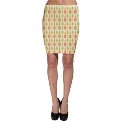 Spatula Spoon Pattern Bodycon Skirts