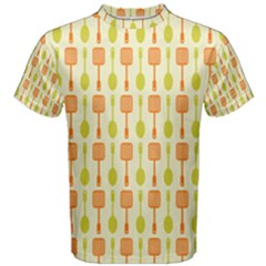 Spatula Spoon Pattern Men s Cotton Tees