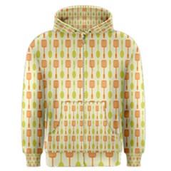 Spatula Spoon Pattern Men s Zipper Hoodies