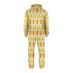 Spatula Spoon Pattern Hooded Jumpsuit (Kids)