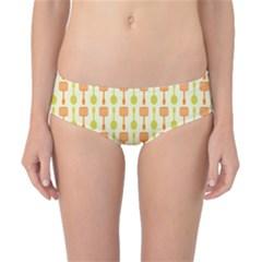 Spatula Spoon Pattern Classic Bikini Bottoms