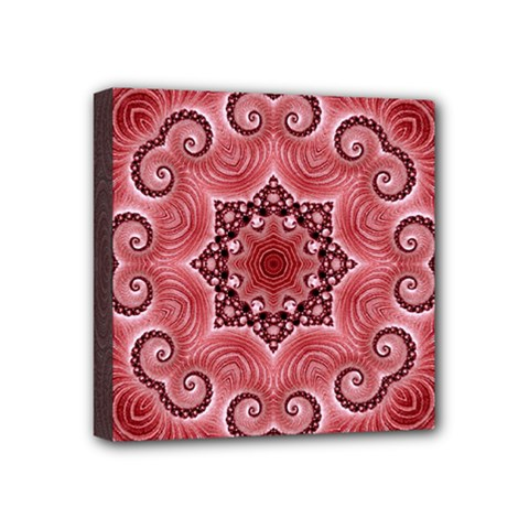 Awesome Kaleido 07 Red Mini Canvas 4  X 4