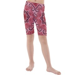 Awesome Kaleido 07 Red Kid s swimwear