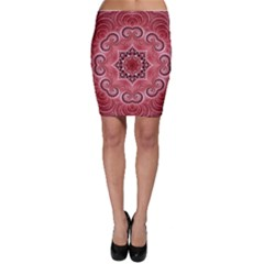 Awesome Kaleido 07 Red Bodycon Skirts