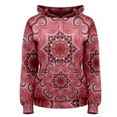 Awesome Kaleido 07 Red Women s Pullover Hoodies