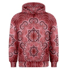 Awesome Kaleido 07 Red Men s Zipper Hoodies