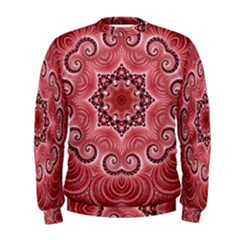 Awesome Kaleido 07 Red Men s Sweatshirts