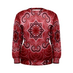 Awesome Kaleido 07 Red Women s Sweatshirts
