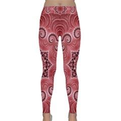 Awesome Kaleido 07 Red Yoga Leggings