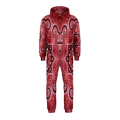Awesome Kaleido 07 Red Hooded Jumpsuit (Kids)
