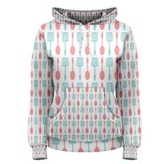 Spatula Spoon Pattern Women s Pullover Hoodies