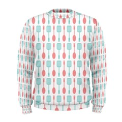 Spatula Spoon Pattern Men s Sweatshirts