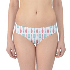 Spatula Spoon Pattern Hipster Bikini Bottoms