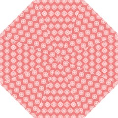 Abstract Knot Geometric Tile Pattern Hook Handle Umbrellas (medium)