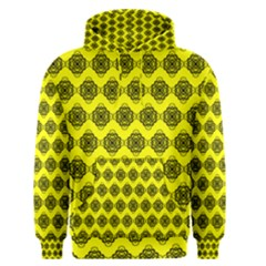 Abstract Knot Geometric Tile Pattern Men s Pullover Hoodies