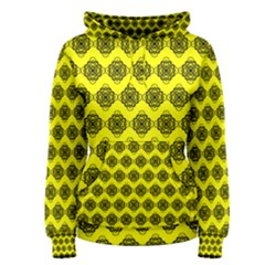 Abstract Knot Geometric Tile Pattern Women s Pullover Hoodies