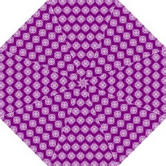 Abstract Knot Geometric Tile Pattern Golf Umbrellas
