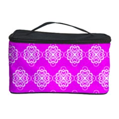 Abstract Knot Geometric Tile Pattern Cosmetic Storage Cases