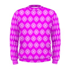 Abstract Knot Geometric Tile Pattern Men s Sweatshirts