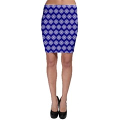 Abstract Knot Geometric Tile Pattern Bodycon Skirts