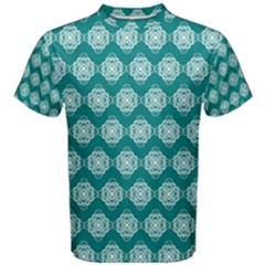 Abstract Knot Geometric Tile Pattern Men s Cotton Tees