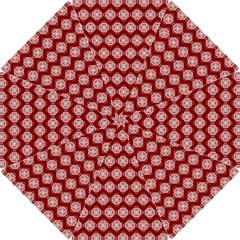 Abstract Knot Geometric Tile Pattern Hook Handle Umbrellas (Small)