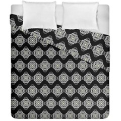 Abstract Knot Geometric Tile Pattern Duvet Cover (double Size)