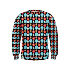 Colorful Floral Pattern Boys  Sweatshirts