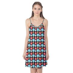 Colorful Floral Pattern Camis Nightgown