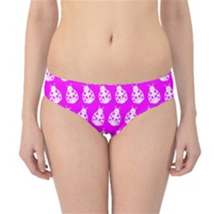 Ladybug Vector Geometric Tile Pattern Hipster Bikini Bottoms