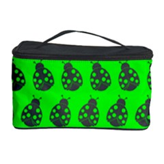 Ladybug Vector Geometric Tile Pattern Cosmetic Storage Cases