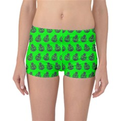 Ladybug Vector Geometric Tile Pattern Reversible Boyleg Bikini Bottoms