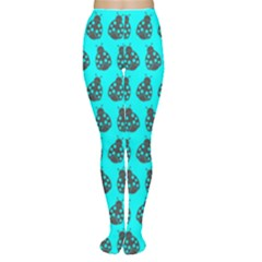 Ladybug Vector Geometric Tile Pattern Women s Tights