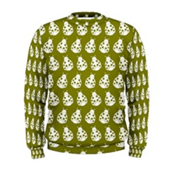 Ladybug Vector Geometric Tile Pattern Men s Sweatshirts
