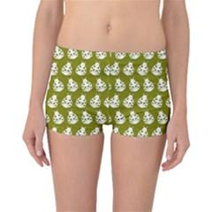 Ladybug Vector Geometric Tile Pattern Boyleg Bikini Bottoms