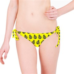 Ladybug Vector Geometric Tile Pattern Bikini Bottoms