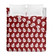 Ladybug Vector Geometric Tile Pattern Duvet Cover (twin Size)