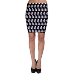 Ladybug Vector Geometric Tile Pattern Bodycon Skirts