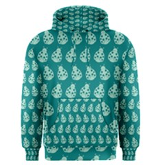 Ladybug Vector Geometric Tile Pattern Men s Pullover Hoodies
